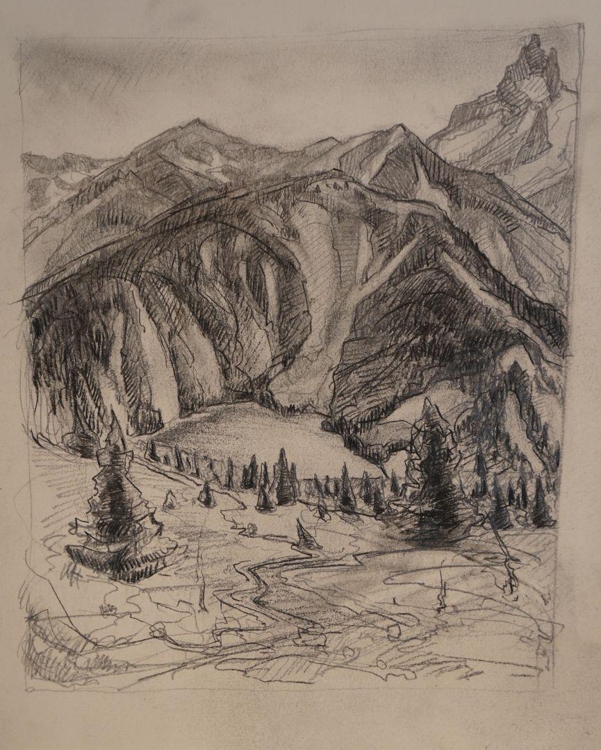 Mountain Sketch #2